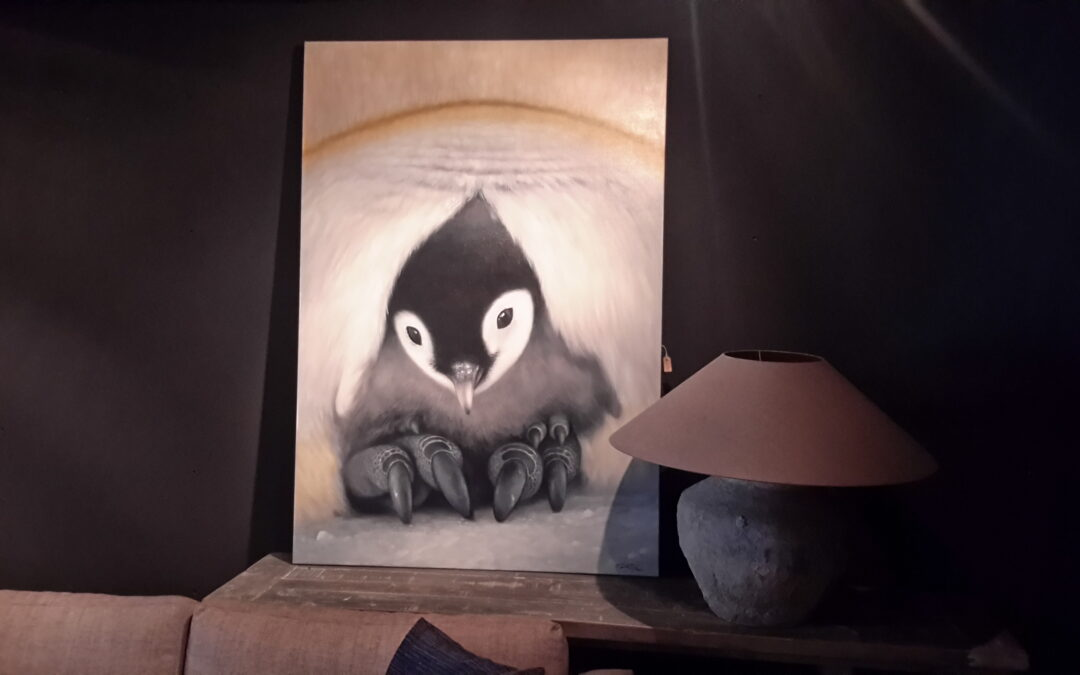 Schilderij Happy Feet