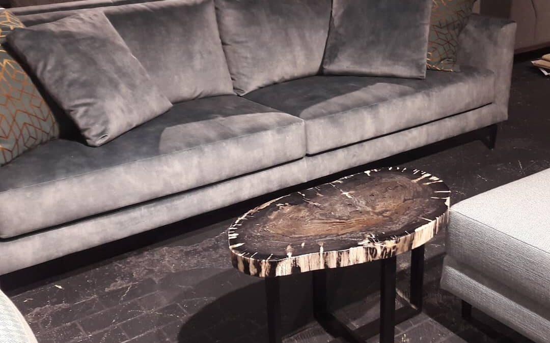 Fossiel houten tafels